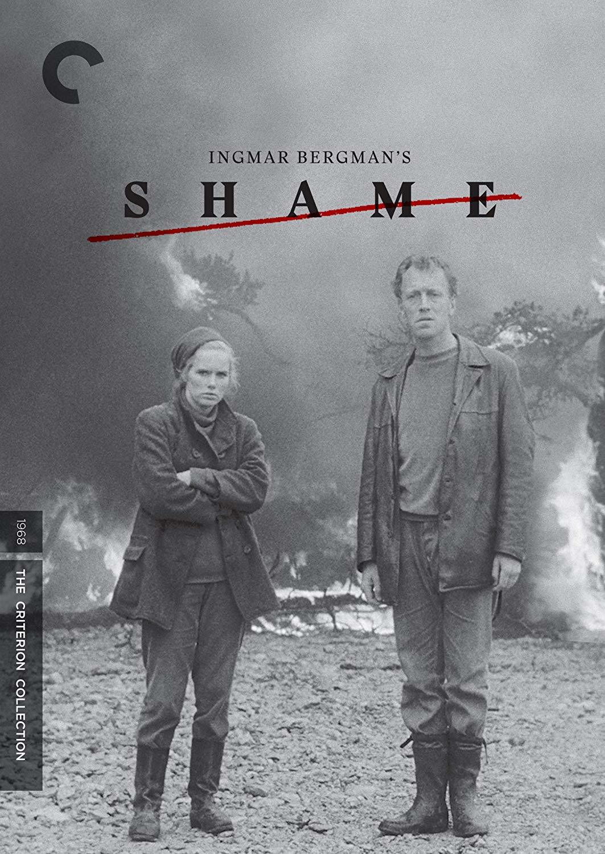 Max von Sydow and Liv Ullmann in Skammen (1968)