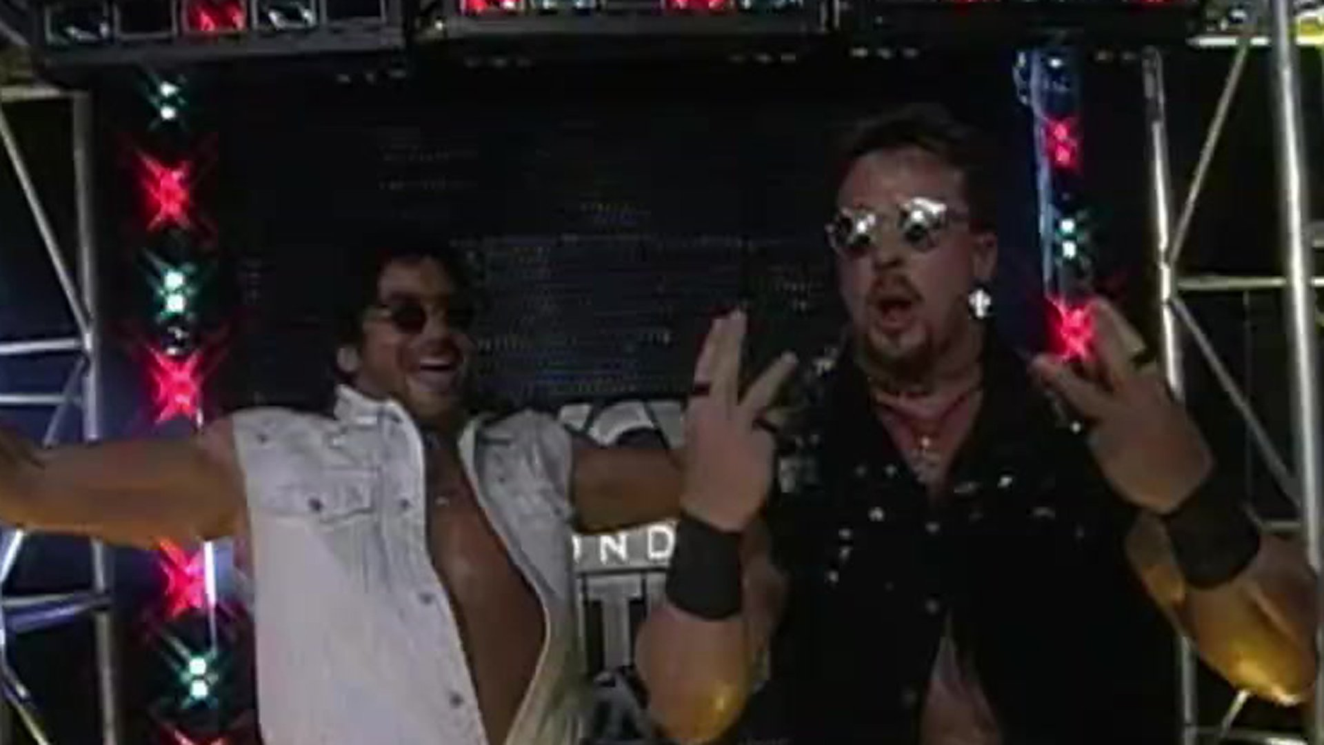Scotty Antol and Marcus Bagwell in WCW Monday Nitro (1995)