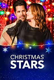 Erica Durance and J.T. Hodges in Christmas Stars (2019)