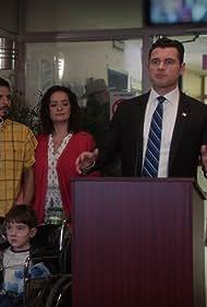 Naya Guzman, Ivan Wanis-Ruiz, Adan Canto, and Matias Seale in Designated Survivor (2016)