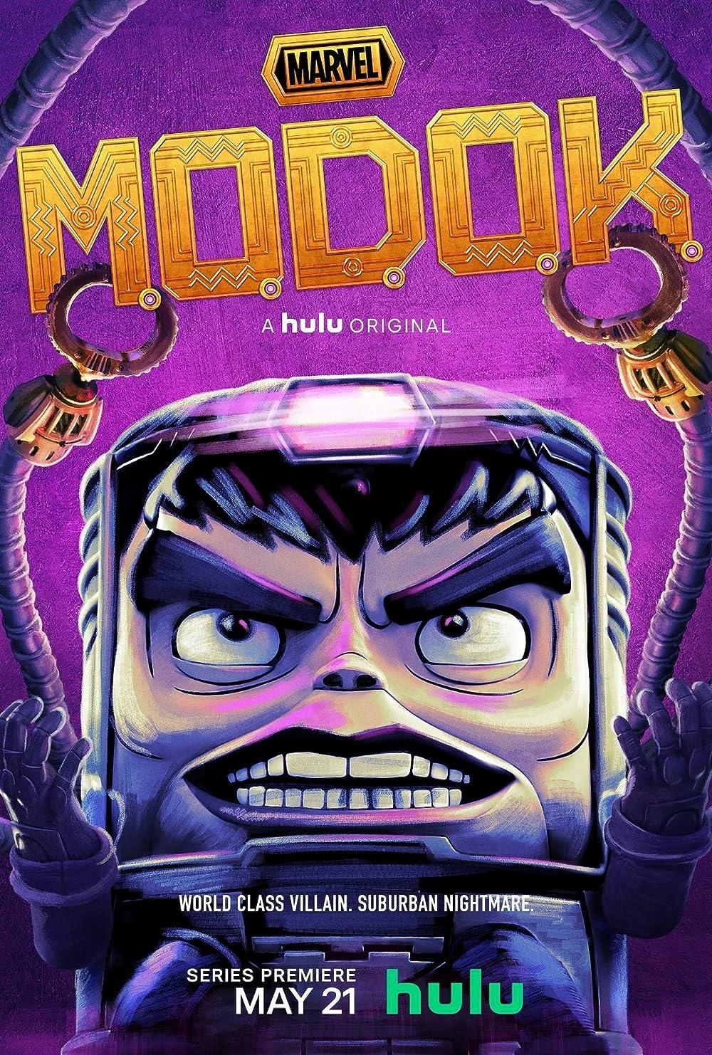 Filmbeschreibung zu Marvels M.O.D.O.K