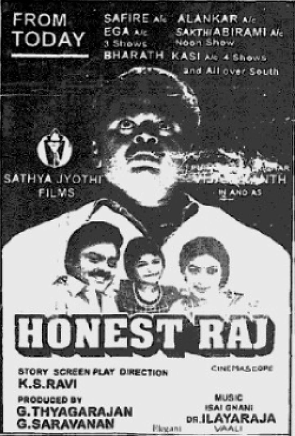 Honest Raj (1994) - IMDb
