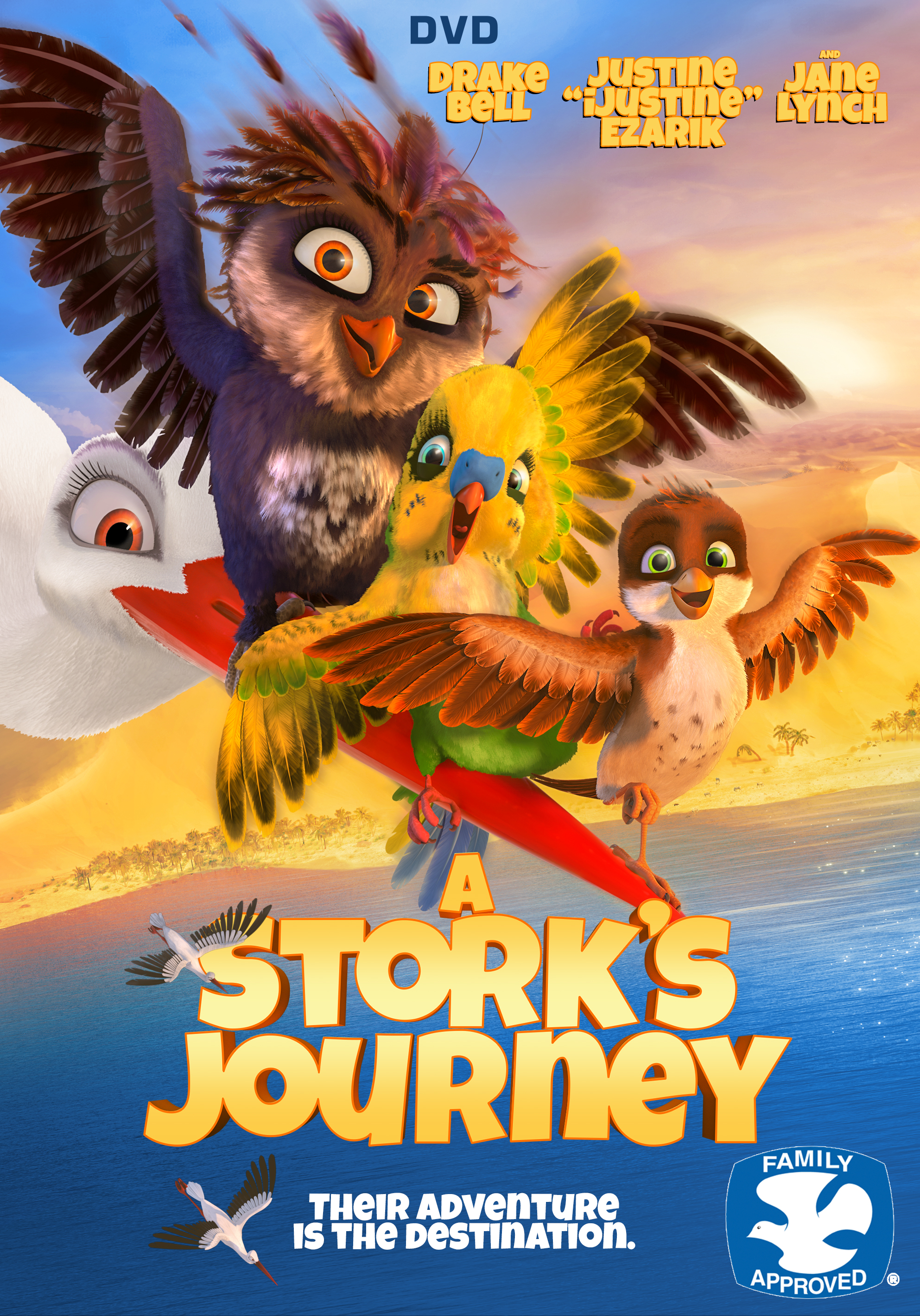 A Stork's Journey (2017) Dual Audio (English+Hindi) BluRay | 480p | 720p