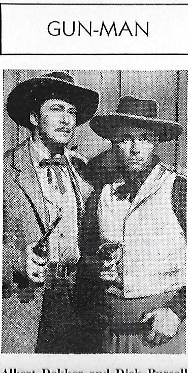 Albert Dekker and Dick Purcell in In Old California (1942)