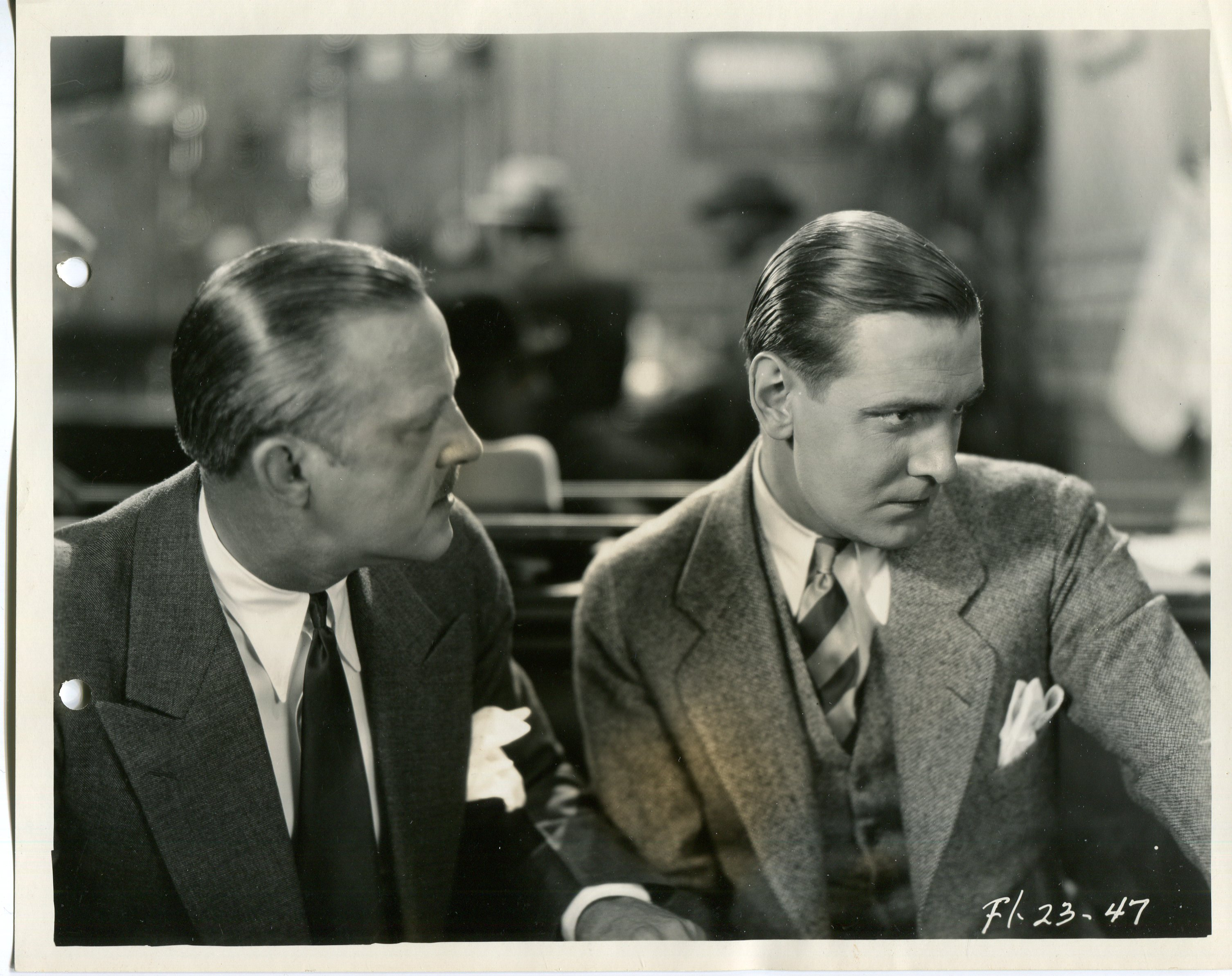 Kenneth Thomson and Paul Vincent in The Veiled Woman (1929)