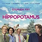 Matthew Modine, Roger Allam, Tim McInnerny, and Fiona Shaw in The Hippopotamus (2017)