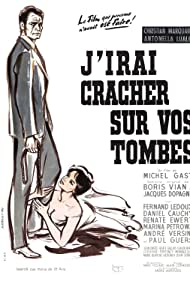 Renate Ewert and Christian Marquand in J'irai cracher sur vos tombes (1959)