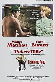 Pete 'n' Tillie (1973) Poster - Movie Forum, Cast, Reviews