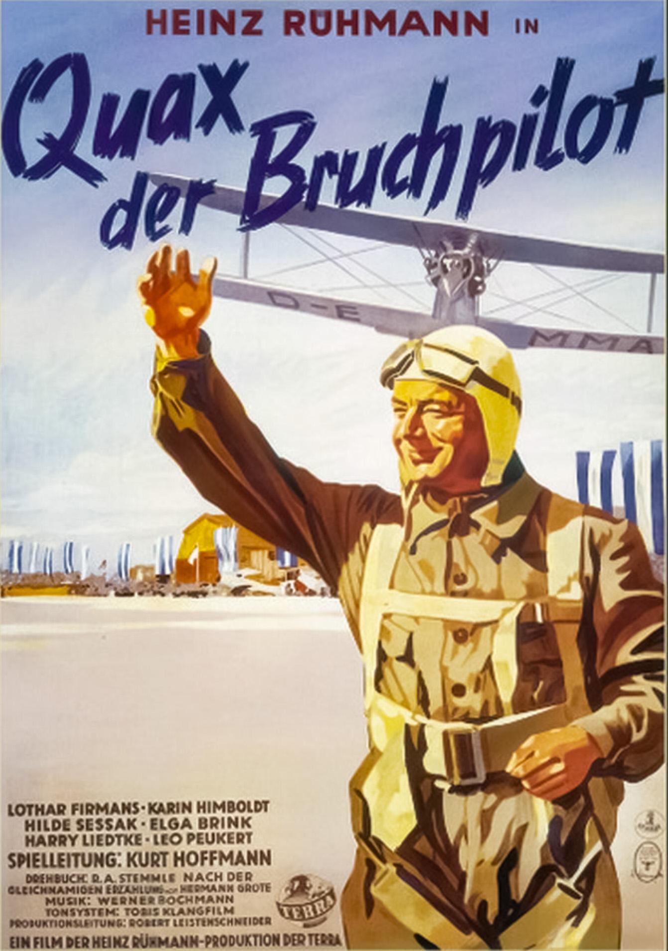 Quax Der Bruchpilot 1941 Imdb