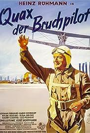 Quax, der Bruchpilot Poster