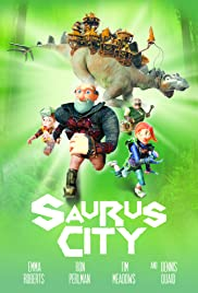 Saurus City Poster
