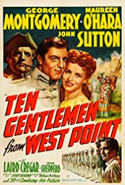Ten Gentlemen from West Point Poster