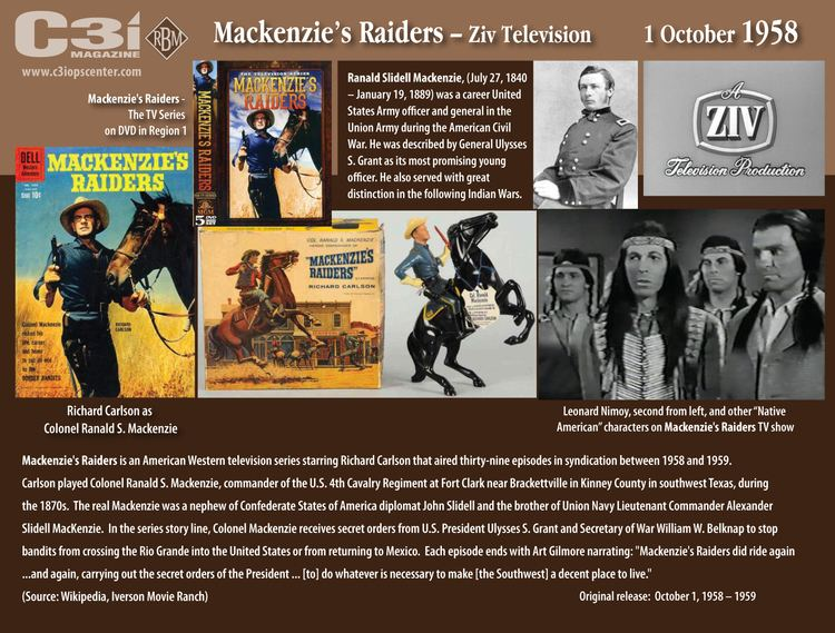 Mackenzie's Raiders (1958)
