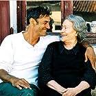 Daniel Duval and Annie Girardot in Le temps des porte-plumes (2006)