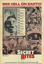 Secret Rites Poster