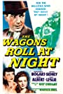 Humphrey Bogart, Joan Leslie, and Sylvia Sidney in The Wagons Roll at Night (1941)
