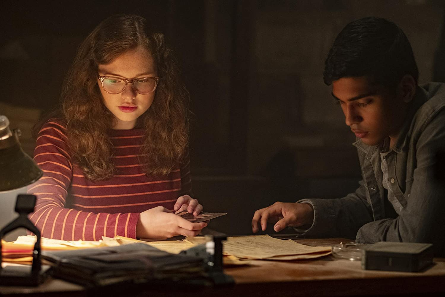 Zoe Margaret Colletti and Michael Garza in Scary Stories to Tell in the Dark (2019)