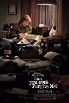 Can You Ever Forgive Me? (2018) Poster