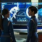 Rekha Sharma and Sonequa Martin-Green in Star Trek: Discovery (2017)