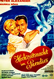 Hochzeitsnacht im Paradies Poster