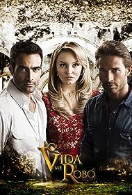 Luis Roberto Guzmán, Sebastián Rulli, and Angelique Boyer in Lo que la vida me robó (2013)