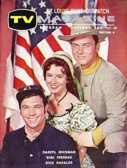 Richard Davalos, Darryl Hickman, and Gigi Perreau in The Americans (1961)