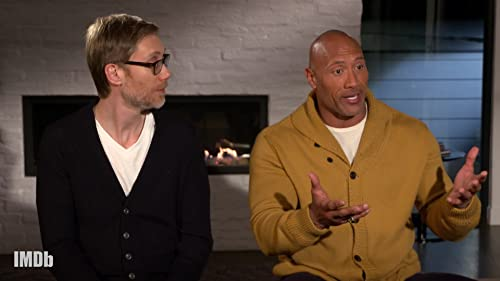 Dwayne Johnson and Stephen Merchant Bond Over WrestleMania