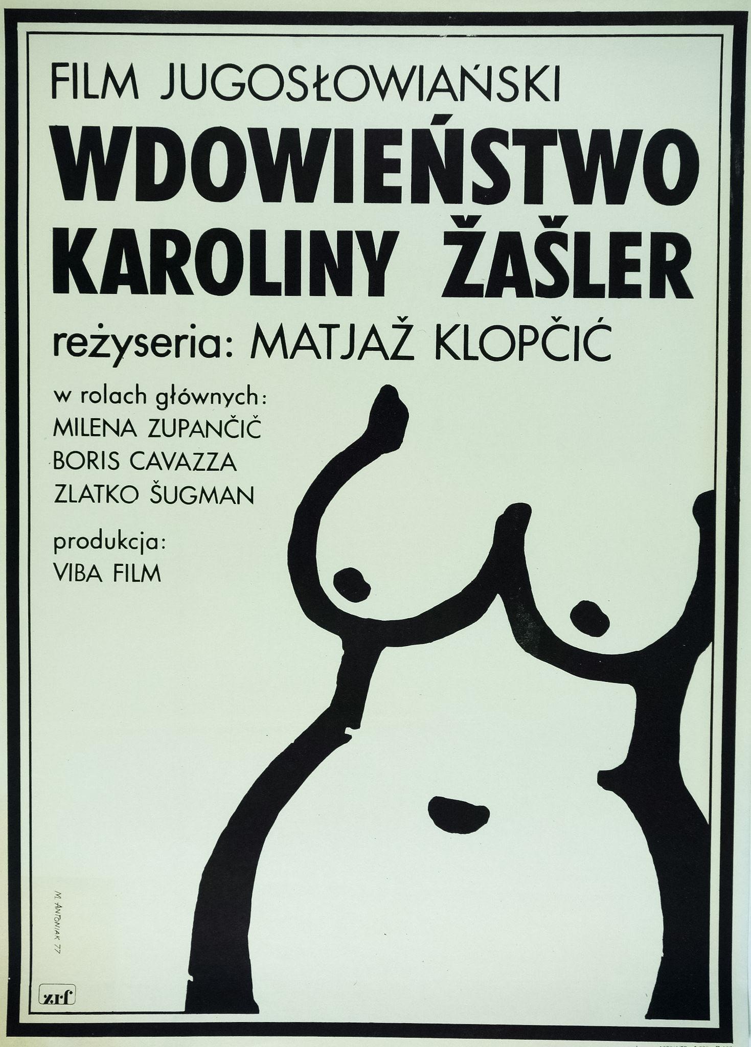 Boris Cavazza, Matjaz Klopcic, Zlatko Sugman, and Milena Zupancic in Vdovstvo Karoline Zasler (1976)