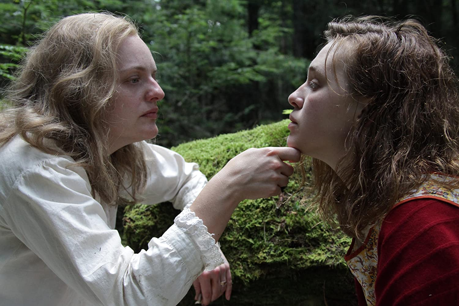 Elisabeth Moss and Odessa Young in Shirley (2020)