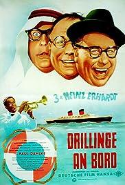 Drillinge an Bord Poster