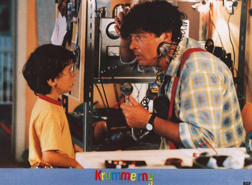 Lukas Forchhammer and Dick Kaysø in Krummerne 3 - fars gode idé (1994)