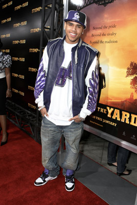 Chris Brown at an event for Stomp the Yard (2007)
