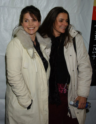 Julia Ormond and Katja von Garnier at an event for Iron Jawed Angels (2004)