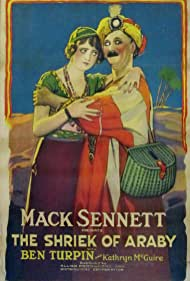 Kathryn McGuire and Ben Turpin in The Shriek of Araby (1923)