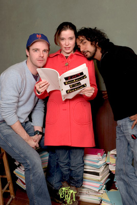 Naveen Andrews, Marguerite Moreau, and Brían F. O'Byrne at an event for Easy (2003)