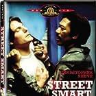 Morgan Freeman and Christopher Reeve in Street Smart (1987)