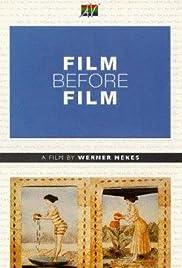 Film Before Film Poster