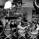 "33-2287 Audrey Hepburn and the cast of ""Wait Until Dark"""