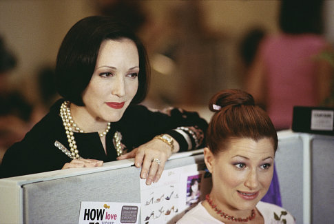 Bebe Neuwirth as Lana and Kathryn Hahn as Michelle