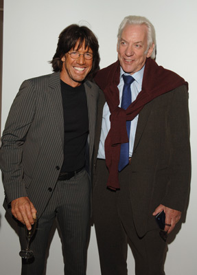 Donald Sutherland and Christian Duguay at an event for Human Trafficking (2005)