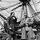 """Gregory Peck, And Director Raoul Walsh """"Captain Horatio Hornblower"""" 1951 Warner Brothers"""