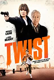 Michael Caine and Lena Headey in Twist (2021)
