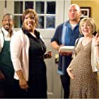 Martin Lawrence, Kym Whitley, Will Sasso, and Geneva Carr in College Road Trip (2008)