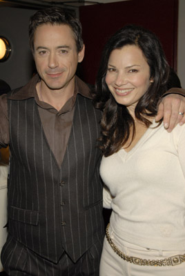 Robert Downey Jr. and Fran Drescher at an event for A Guide to Recognizing Your Saints (2006)