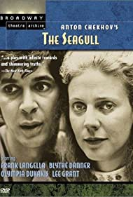 Blythe Danner and Frank Langella in The Seagull (1975)