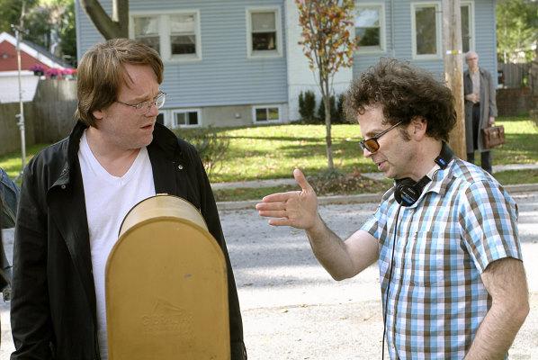 Philip Seymour Hoffman and Charlie Kaufman in Synecdoche, New York (2008)