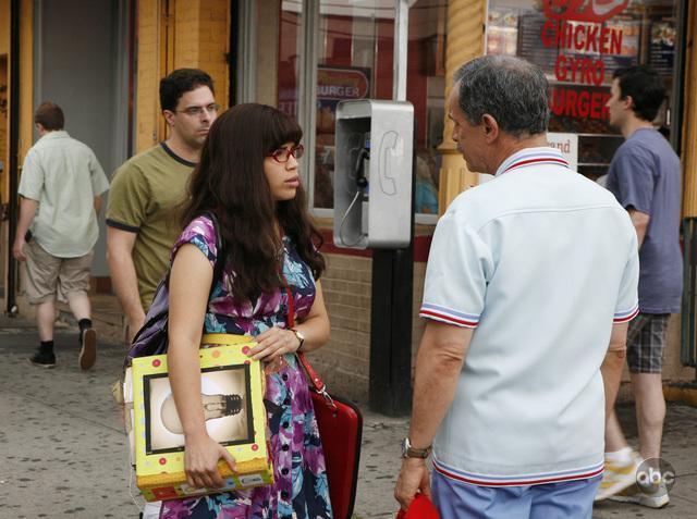 Tony Plana and America Ferrera in Ugly Betty (2006)