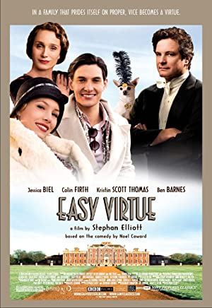 Easy Virtue Poster Image