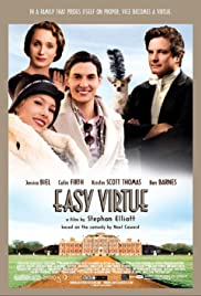 Easy Virtue (2008) Poster - Movie Forum, Cast, Reviews