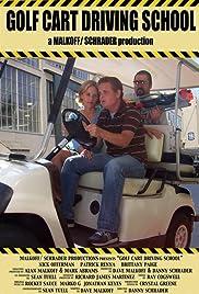 Golf Cart Driving School Poster
